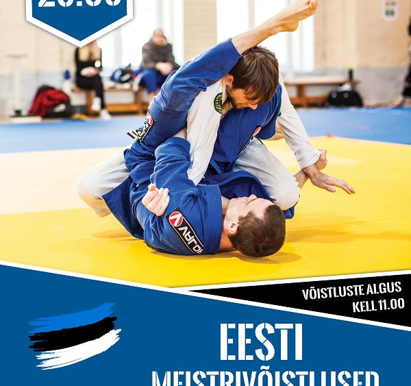 Eesti meistrivõistlused brasiilia jiu-jitsus 2018