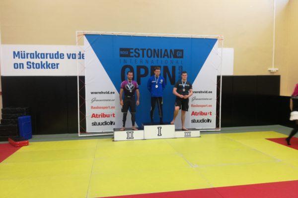 Nogi BJJ e lukumaadluse Estonian Open 2018